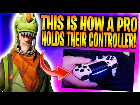 PRO CONSOLE FORTNITE PLAYER SHOWS HOW FAST HE IS WITH CONTROLLER CAM!