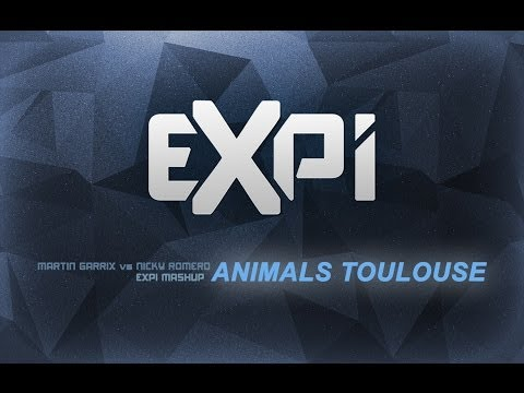 Martin Garrix vs Nicky Romero - Animals Toulouse (Expi Mashup)