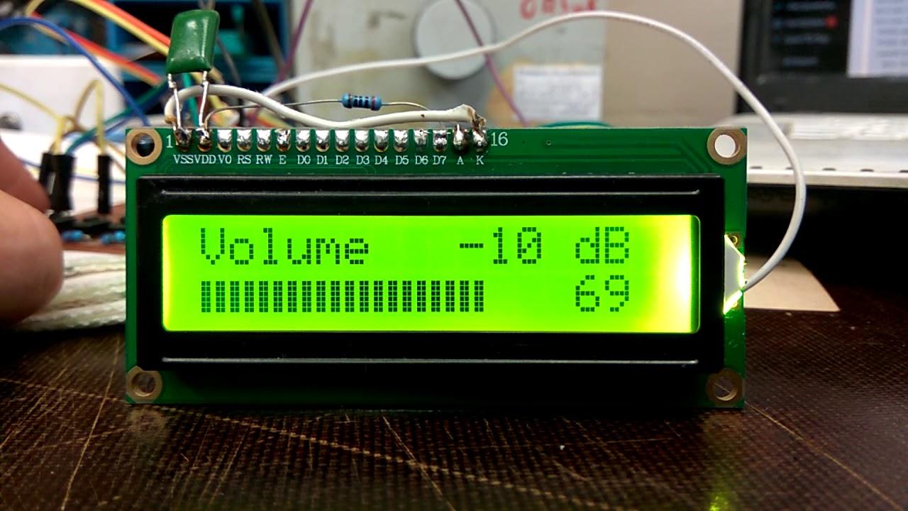 Темброблок 5.1 на PT2323 и PT2322 (Arduino)