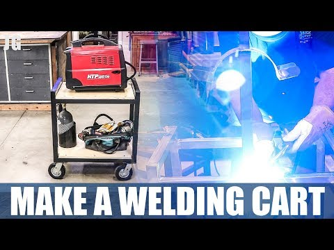DIY Metal Welding Cart | JIMBOS GARAGE