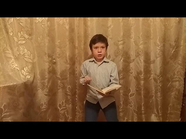 Изображение предпросмотра прочтения – МаксимГареев читает отрывок изпроизведения «Тимур и его команда» АркадияПетровичаГайдара