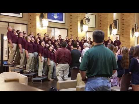 Singing Cadets  Aggie Fight Song 9916