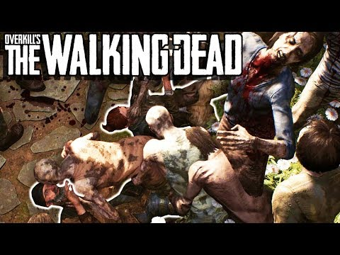 ZOMBIE SURVIVAL IN ZOMBIE APOCALYPSE? - Overkill's The Walking Dead Gameplay - Zombie Survival thumbnail