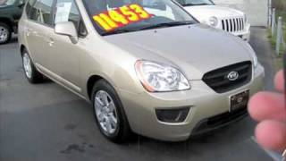 2008 Kia Rondo LX V6 Start Up, Engine, and In Depth Tour