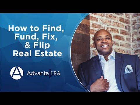 How to Find, Fund, Fix, & Flip Real Estate
