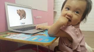 Nhật Ký Học Tiếng Anh Monkey Junior Của Chị Đại 1 Tuổi Ngày 23-05-2019