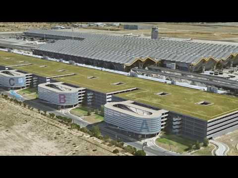 Aeropuerto Internacional Adolfo Suarez, Madrid-Barajas. T4, construido FCC