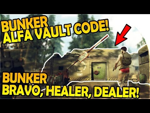 BUNKER ALFA VAULT PASSWORD CODE, HEALER + DEALER, BUNKER BRAVO - Last Day on Earth Survival Gameplay