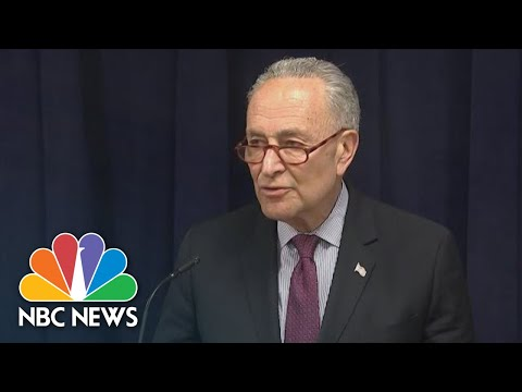 Chuck Schumer: It's 'Imperative' Mueller Report Be Made Public | NBC News