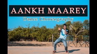 SIMMBA | Aankh Marey | Dance Choreography | DANCOGRAPHY