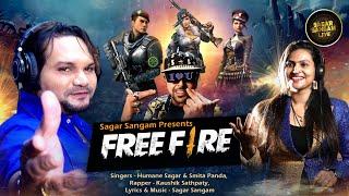 Free Fire Song   New Odia Dance Song   Humane Sagar   Smita Panda   Odia Gaming Song   2021 Song  
