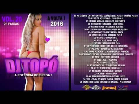 CD DJ TOPÓ VOL.  20 Á VOLTA -  LANÇAMENTO 2016