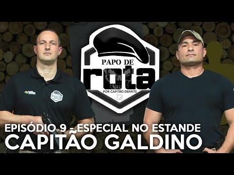 PAPO DE ROTA ESPECIAL NO ESTANDE DE TIRO, com Capitão Galdino - episódio 9