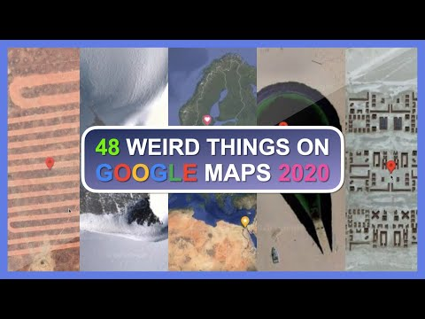 48 WEIRD things ON GOOGLE MAPS (Part 4) 2020! (Secrets & Easter Eggs)