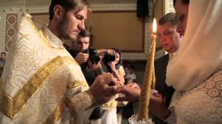 Венчание в храме на Херсонесе. Севастополь. Денис и Катя