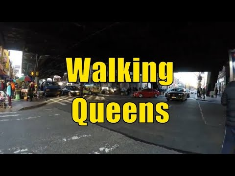 ⁴ᴷ Walking Tour of Queens, NYC - Jackson Heights, Elmhurst & Corona (NYC's Melting Pot)
