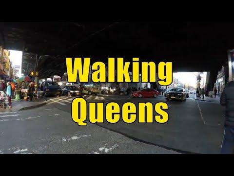 ⁴ᴷ Walking Tour of Queens, NYC - Jackson Heights, Elmhurst & Corona (NYC's Melting Pot)