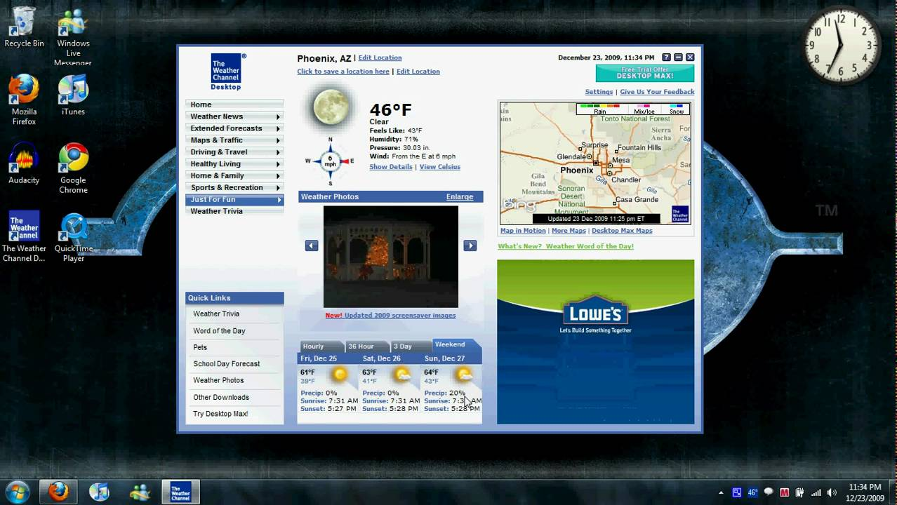 Review The Weather Channel Desktop