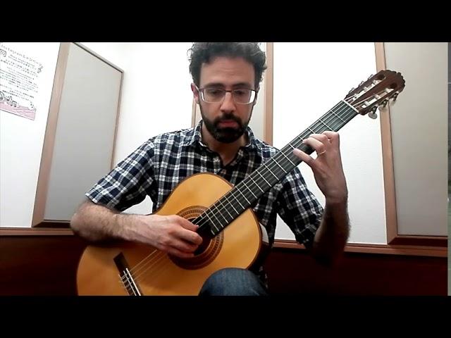 Beginning Classical Guitar: Sor Study Op. 60, No. 5