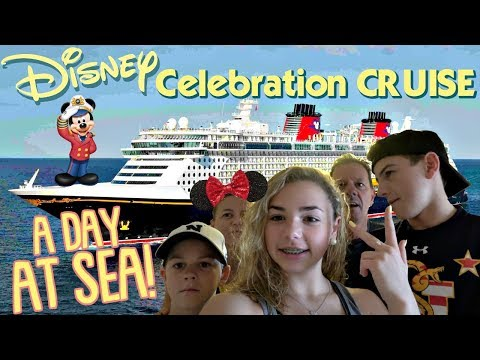 FOOD!! GAMES!! AND A DAY AT SEA | DISNEY Celebration CRUISE