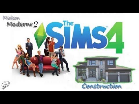 ➳Construction maison moderne /Sims4 ♥ (Intérieur) - YouTube