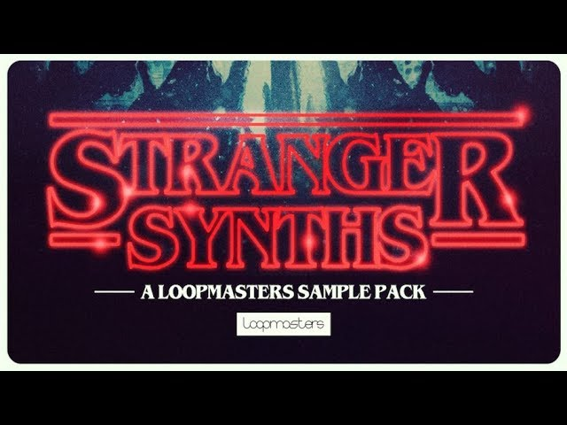 Stranger Synths - Royalty Free Analogue Synth Samples - Loopmasters #1