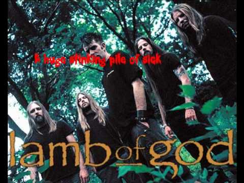 Lamb Of God Remorse is for the dead with Lyrics