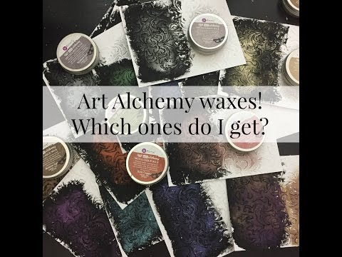 Finnabair Art alchemy waxes. Which ones should I get?