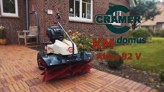 Обзор подметальной машины Cramer KM domus Akku 82 V (DE)