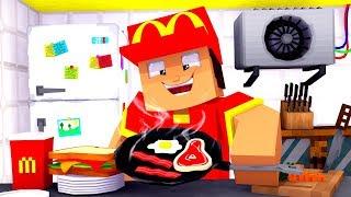 Mein EIGENER MCDONALDS?! - Minecraft ALLTAG