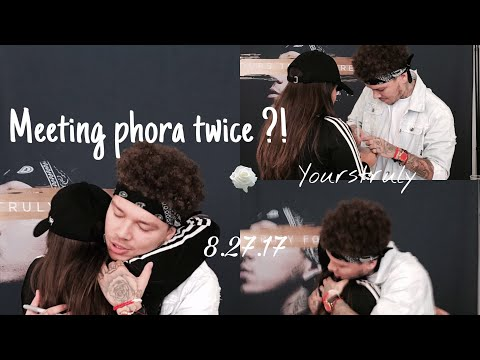 MEETING PHORA TWICE IN A ONE MONTH ! 🌹