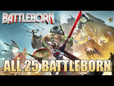All 25 Battleborn (Character Rundown)