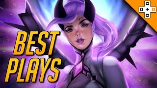 OVERWATCH BEST PLAYS OF THE GAME - Epic and Awesome Plays