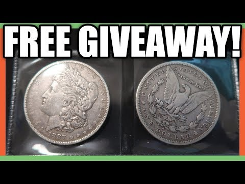 FREE SILVER MORGAN DOLLAR COIN GIVEAWAY - SILVER COINS WORTH MONEY!!