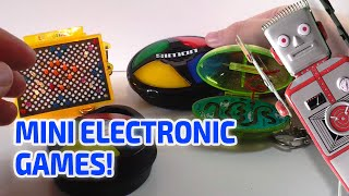MINI ELECTRONIC GAMES - Really work!