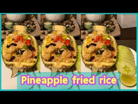 EP41.Pineapple fried rice with chicken for first time | ข้าวผัดสับปะรดครั้งแรก| Triple R boyz Family