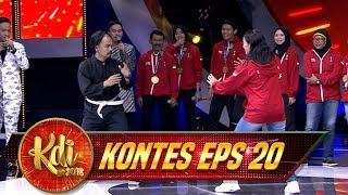 Download lagu Ada JETLI kw Siap Melawan Para Atlet Pencak Silat Peraih Medali Emas - Kontes KDI Eps 20 (31/8)