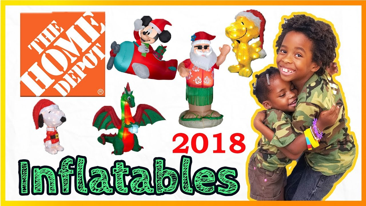 THE HOME DEPOT Christmas Inflatables 2018