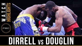 Dirrell vs Douglin HIGHLIGHTS: November 17, 2017 - PBC on FS1