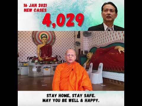 Stay Safe - Ven Datuk K Sri Dhammaratana