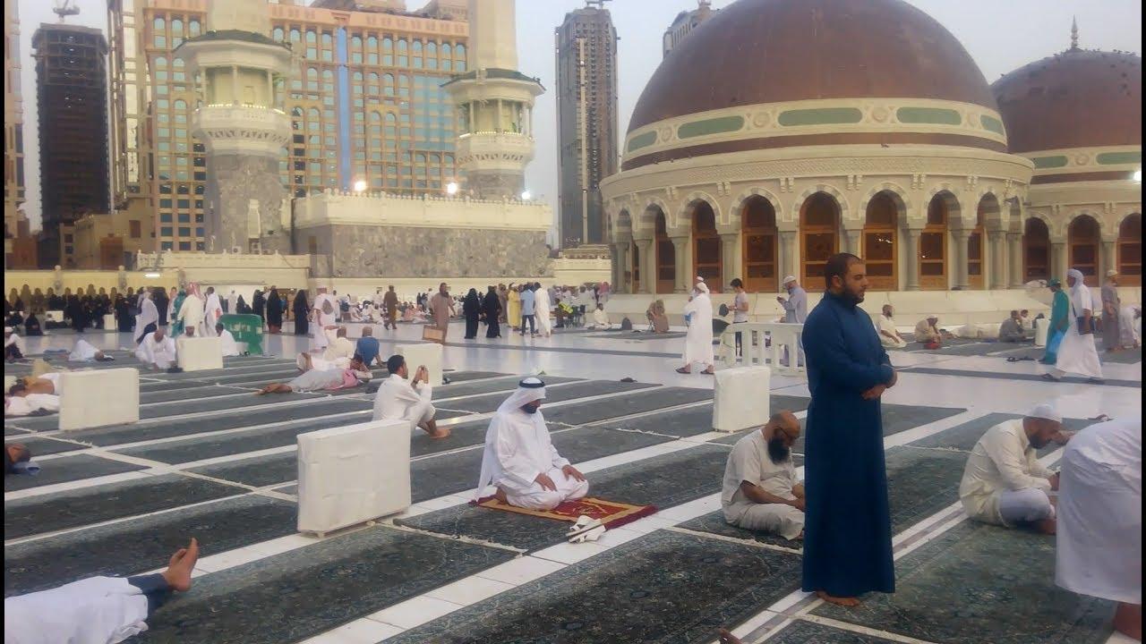 جولة فى سطح المسجد الحرام بمكة المكرمة Masjid al-Haram | Makkah