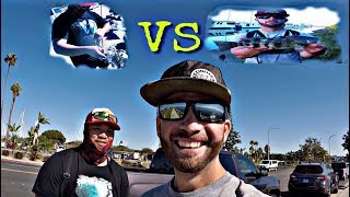 1 on 1 fishing challenge with Rodney Marquez (who won?)