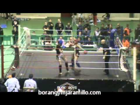 Helena Andrés (Boran Gym) vs Devora (Boxing Ko) - YouTube