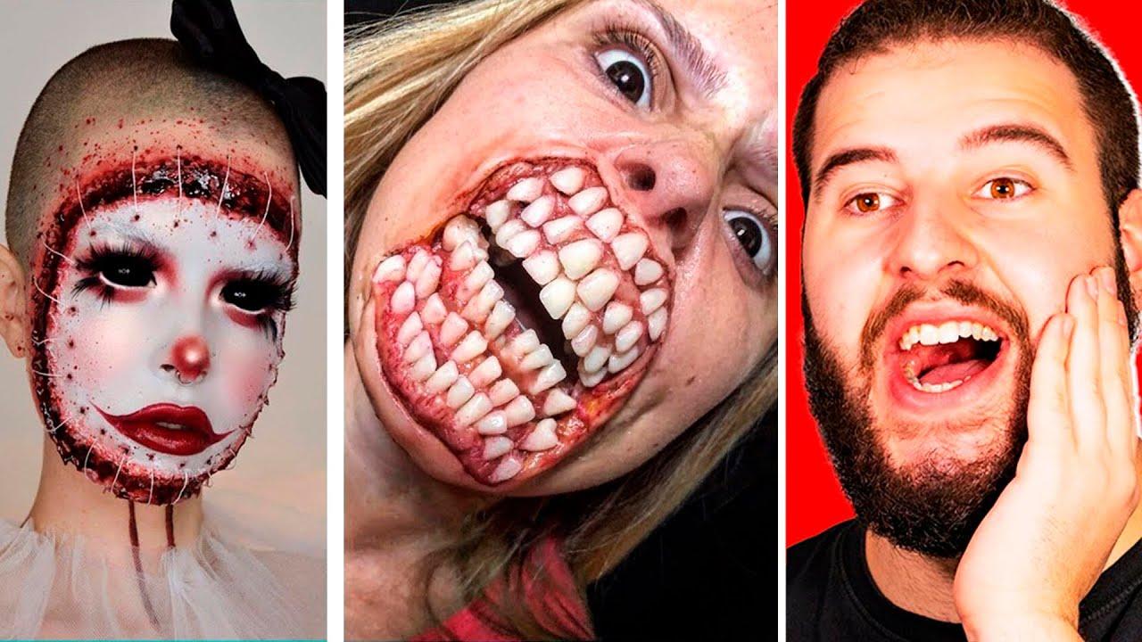 Maquillaje Para Halloween Que Está A Otro Nivel #2