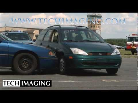 High Speed Camera Video - Car crash