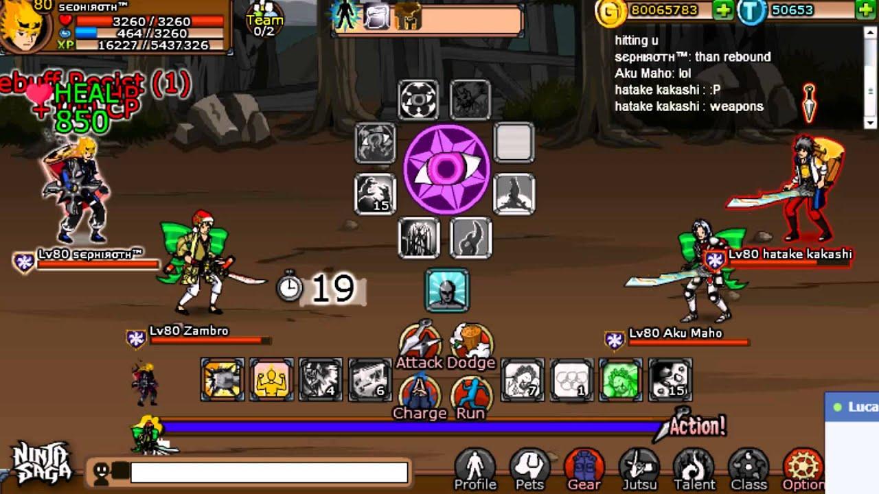 Ninja saga trade system