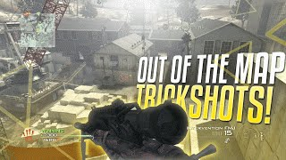 CRAZY OUT OF THE MAP TRICKSHOTS!