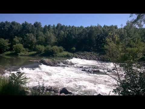 River HRON in Slovak Republik