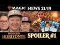 Modern Horizons Spoiler Magic the Gathering News 21 deutsch traderonlinevideo MTG Horizonte Trader