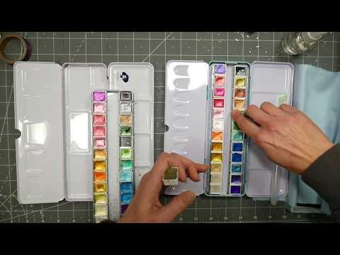 Artsy Metallic 24 Pan Watercolor Set Review